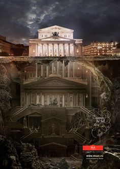 Press & OOH campaign for Schusev State Museum of Architecture, Moscow