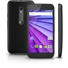 Smartphone Motorola Moto G 3ª Geração XT1543 Preto Dual Chip Android 5.1.1 Lollipop Wi-Fi 4G Memória 8GB