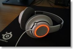 SteelSeries Siberia RAW Prism - budget gaming headset with 15.5m colour light options