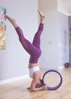 3 New Ways to Use a Yoga Wheel