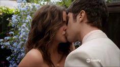 #TheFostersBingeandWinSweepsEntry  Brandon and Callie finally kiss!