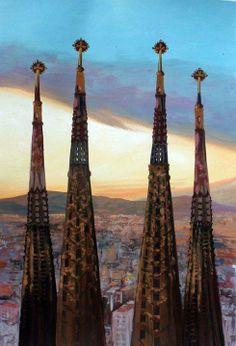 Sagrada Familia, Antoni Gaudi. Catalonia | Europe