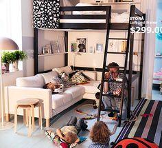 loft bed - cama - mazanino - quarto