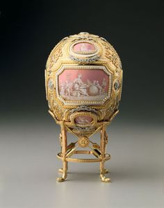 Catherine the Great Easter Egg  Fabergé, 1914  The Hillwood Estate