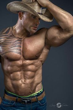 Horny Muscley Lovers Get Down And Dirty