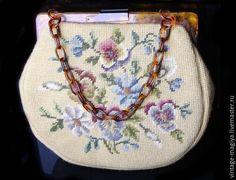 Купить Антикварная сумочка «Прекрасные Цветы» - винтаж, винтажный стиль, винтажная сумка, женская сумка