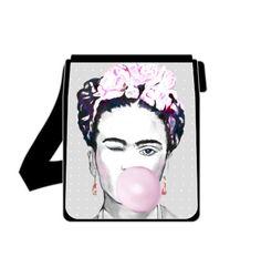 Schultertaschen - Frida Kahlo Schultertasche Kunst Tasche Umhänge... - ein Designerstück von Art-istique bei DaWanda