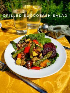 Grilled Succotash Salad