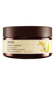 Women's AHAVA 'Hibiscus & Fig' Mineral Botanic Rich Body Butter