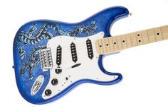 SPECIAL EDITION DAVID LOZEAU ART STRATOCASTER® - DRAGON ART