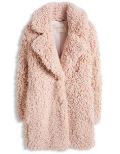 Manteau fausse fourrure hiver 2016 : 20 manteaux en fausse fourrure qui nous font craquer - Elle