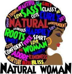 NATURAL WOMAN!