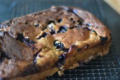 CHObsessed with this easy Blueberry Banana Bread