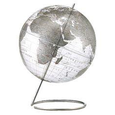 Marquise Crystal World Globe