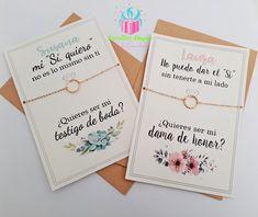 Bridesmaid Proposal, Be My Bridesmaid, Bridesmaid Bracelet, Wedding Girl, Our Wedding, Dream Wedding, Civil Wedding, Team Bride, Alternative Wedding