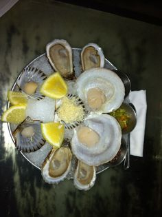 oysters Quail, Oysters, Salmon, Sausage, Seafood, Old Montreal, Sausages, Sea Food, Quails