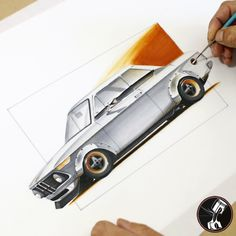 Bmw 2002 Marker rendering- a little extra flair to car that looks good stock