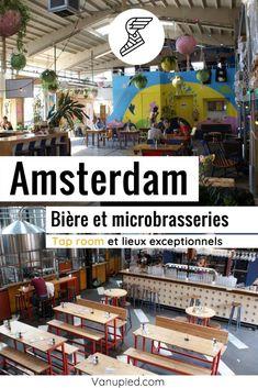 Bière et microbrasseries à Amsterdam : Lieux à ne pas rater ! Guide Amsterdam, Cafe Bar, Architecture, Black Picture, Brewery, Pathways, Arquitetura, Architecture Design