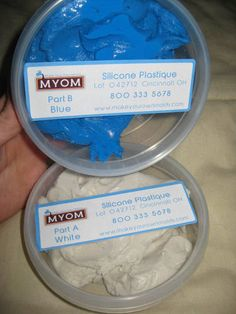 SILICONE PLASTIQUE FOR CASTING MOLDS