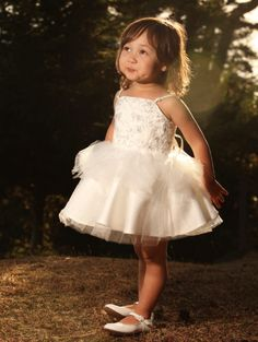 Bunnies Picnic - Dolly Odette Tutu Dress in White - Boutique Clothing for Girls and Boys