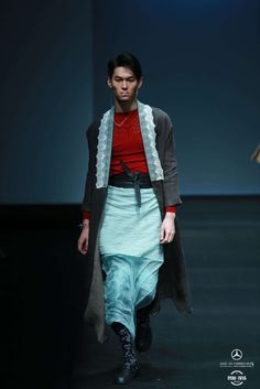 A day in the Left by Lin Qi Fall-Winter 2017/18 - Mercedes-Benz Fashion Week China