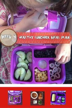 A week of delicious, easy, and healthy lunchbox meal plans that are perfect for your preschooler or elementary school child with options to modify for a toddler-friendly lunch.
