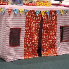 Table Tent Cubby House by LovelyLadiesDesigns on Etsy,