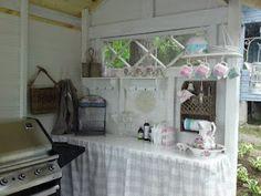 Vanhan talon elämää...: Kesäkeittiö...