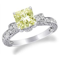 most contemporary wedding rings for woman | Colored Diamond Rings are The New Trend | Engagement rings gallery