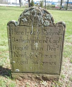 Bethiah Lum 1752 Whippany, NJ