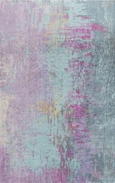A soft, harmonious blend of teal and magenta make up this Felicity rug from Surya (FCT-8003).