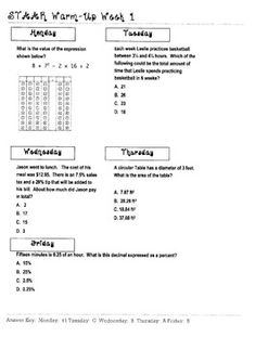 Printables 3rd Grade Math Staar Test Practice Worksheets warm 8th grade math and on pinterest start preparing your students for the 7 staar this worksheet focuses texas practice it covers various teks in one great