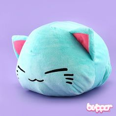 Nemuneko Plush - Big / Blue
