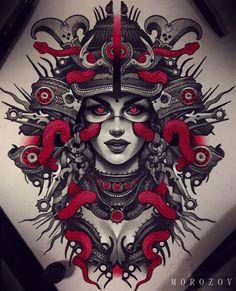 Только эскизы тату / Татуировка / Sketch tattoo's photos