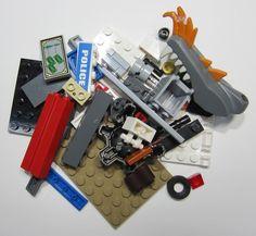 50+ LEGO Original Pieces Bulk Washed and Sanitized NEW (BK05)