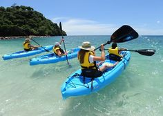 Kayaking with the Kids, Buccament Bay Resort, Grenadines