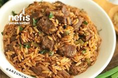 Ankara, Turkish Recipes, Ethnic Recipes, Turkish Kitchen, Kris Jenner, Fried Rice, Noodle, Salsa, Easy Meals