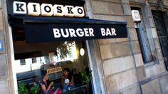 Kiosko burger bar - Barcelona (another great option for a great hamburguer)