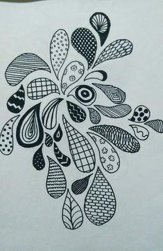 doodle zen easy simple doodles