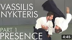 Vassilis Nykteris 5o Dan Aikikai, video series 'Presence' part 1