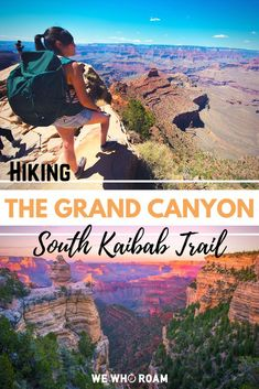 Enjoy the Grand Canyon from a more immersive persepective along the South Kaibab Trail. Expect gorgeous views, a solid work out, and oh, mule droppings! Grand Canyon South, Grand Canyon Camping, Grand Canyon National Park, Trekking, Camping In Maine, Thru Hiking, Hiking Trails, Us Travel Destinations, Domestic Destinations