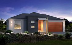Metricon Home Designs: The Soho Metro Facade. Visit www.localbuilders.com.au/builders_queensland.htm to find your ideal home design in Queensland