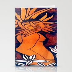 Tribal Stationery Cards by Christa Bethune Smith, Cabsink09 - $12.00