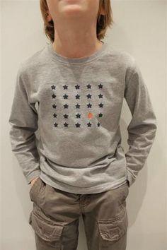 Customisation t-shirt avec peinture textile