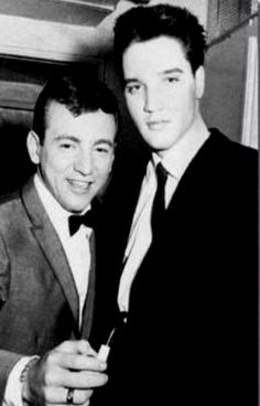 Bobby Darin with Elvis