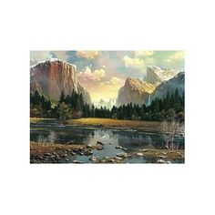 Mountain Glade By Alexander Chen, 1500 Piece Puzzle