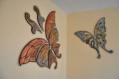 ceramic butterflies - Buscar con Google