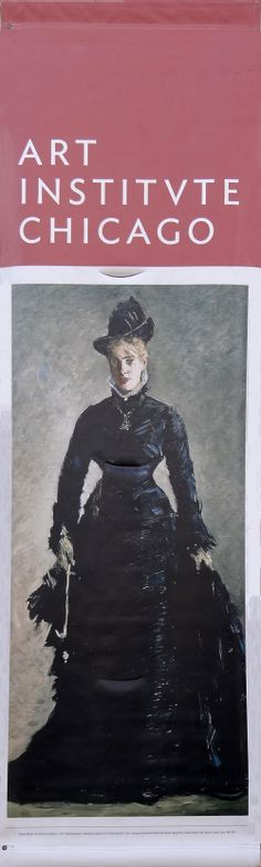 This just in from The Art Institute of Chicago: Edouard Manet The Parisienne | BetterWall.com