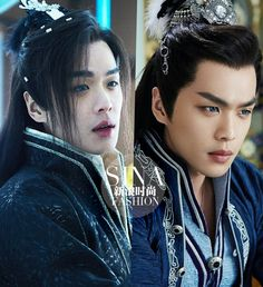 He is so handsome Fantasy Films, Fantasy Romance, Zhang Ruo Yun, Show Luo, Beautiful Men, Beautiful People, Fantasy Couples, Korean Drama Movies, Best Dramas