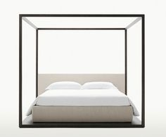 Image detail for -classic canopy bed with a modern swing to it. Contemporary ...